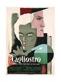 Swedish Poster for Film Cagliostro