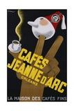 Cafes Jeanne D'Arc Poster