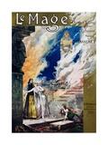 Pre-Raphaelite Poster for Jules Massenet's Opera Le Mage