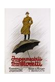 Impermeabili Moretti Umbrella Poster