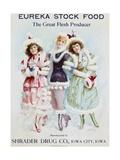 Eureka Stock Food: the Great Flesh Producer Advertising Poster