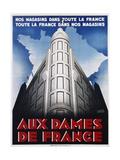 Aux Dames De France Poster