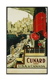 Cunard Usa and Canada Poster