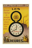 Les 8 Heures Work Incentive Poster