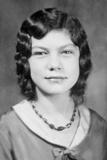 School Girl Portrait  Ca 1932
