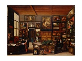 Cognoscenti in a Room Hung with Pictures Attributed to Hieronymus Francken