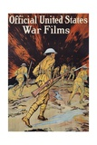 Official United States War Films Poster