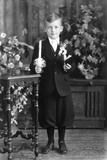 Boy at for His First Communion  Ca 1933