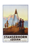 Stanserhorn Luzern Poster