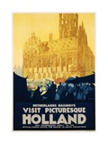 Visit Picturesque Holland Poster