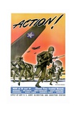 Action! Army Recruitment Poster