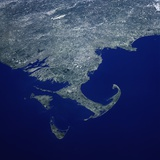 Cape Cod from Space Shuttle Atlantis