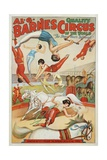 Al G Barnes Circus - Quality Circus of the World Poster