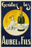 Aubel and Fils Poster Giclée