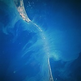 The Palk Strait from Space