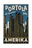Portola Amerika Schokolade Poster