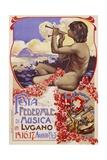 Festa Federale Di Musica in Lugano Poster