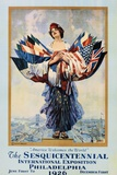 The Sesquicentennial International Exposition - Philadelphia 1926 Poster