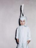 Boy Dressed in Bunny Costume  Ca 1955