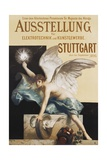 Ausstellung Fur Elektrotechnik Und Kunstgewerbe Poster
