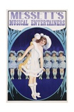 Messett's Musical Entertainers Poster