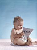 1960s Serious Baby Sitting Reading Budget
