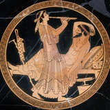 Tondo from an Attic Red-Figure Cup