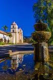 Mission Santa Barbara  Santa Barbara  California Usa