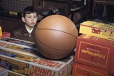 Boy Longing for Basketball