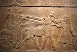 Detail of Late Assyrian Alabaster Relief Panel from Central Palace of Tiglath-Pileser III