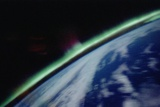 Aurora Australis Seen from Orbit