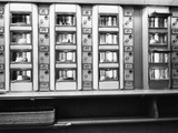 1920s-1950s Series Automat Cafeteria Vending Machine Windows Containing Cake and Pie Desserts