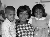 1960s African-American Mother with Her Children