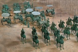 Eastern Han Dynasty Bronze Cavalry and Chariots