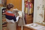 Boy Brushing His Suit Jacket