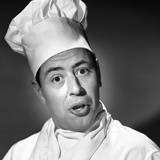 1950s Portrait Man Chef Humorous Expression