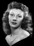 High School Portrait of a Beautiful Young Woman  Ca 1946