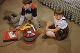 Children Listening to Records