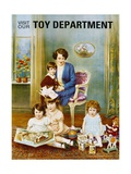 Visit Our Toy Department Poster
