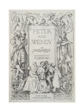 Peter and Wendy Book Cover Illustration