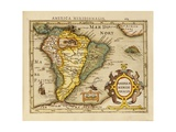 America Meridionalis - a Map of South America