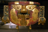 Lambayeque Gold Funerary Mask