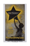 Victory - Add the Fifth Point - Victory Liberty Loan Poster