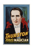 Thurston  World's Famous Magician Poster