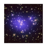 Dark Matter Map in Galaxy Cluster Abell 1689