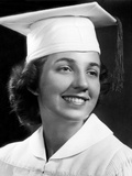 High School Graduation Portrait  Ca 1946