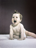 1940s-1950s Laughing Happy Baby