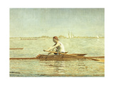 John Biglin in a Single Scull