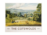 The Cotswolds Poster Giclée