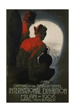 International Exhibition  Milan  1906 Poster